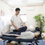 膝、股関節の可動域検査