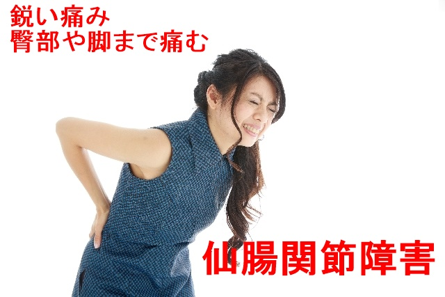 仙腸関節障害の腰痛・しびれ改善